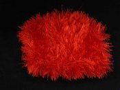 Funky Fur Shrug-Red