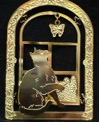 Ornament: Cat in Window