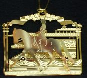 Ornament: Dressage