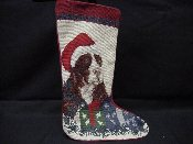 Springer Spaniel Needlepoint Stocking