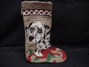 Dalmation Needlepoint Stocking