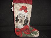 English Setter Needlepoint Stocking
