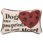 Pillow- Dogs Leave Pawprints