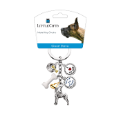 Charm Key Chain- Great Dane