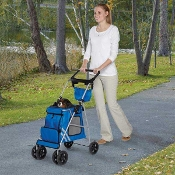 Classic Pet Stroller in Royal Blue