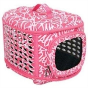 Curvation Pink Leopard Carrier